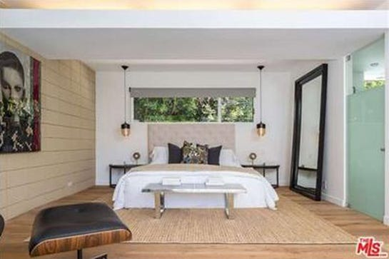 Jamie Dornan Hollywood Hills Los Angeles House