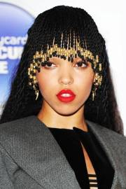 fka twigs - braided bangs