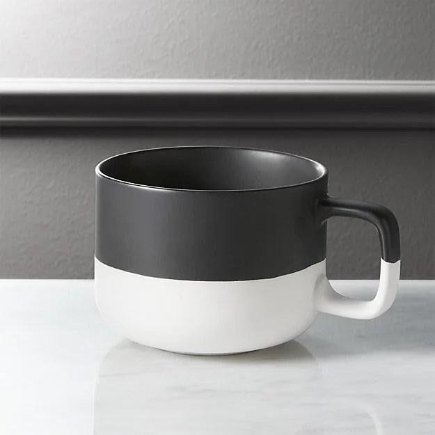 cb2 black dip coffee