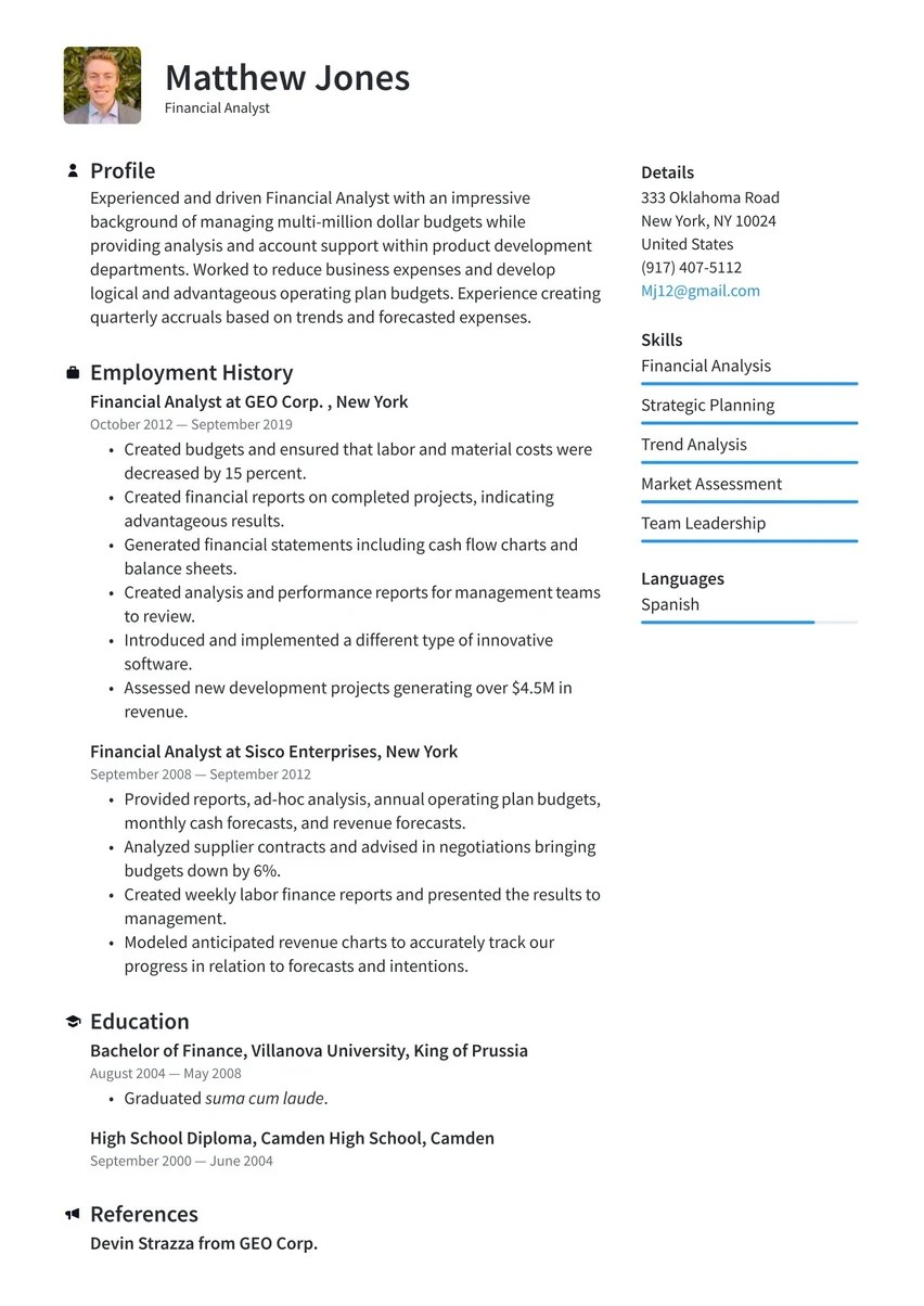 Select a template that fits what you like (or what your potential employer will like). Create Your Job Winning Resume Free Resume Maker Resume Io