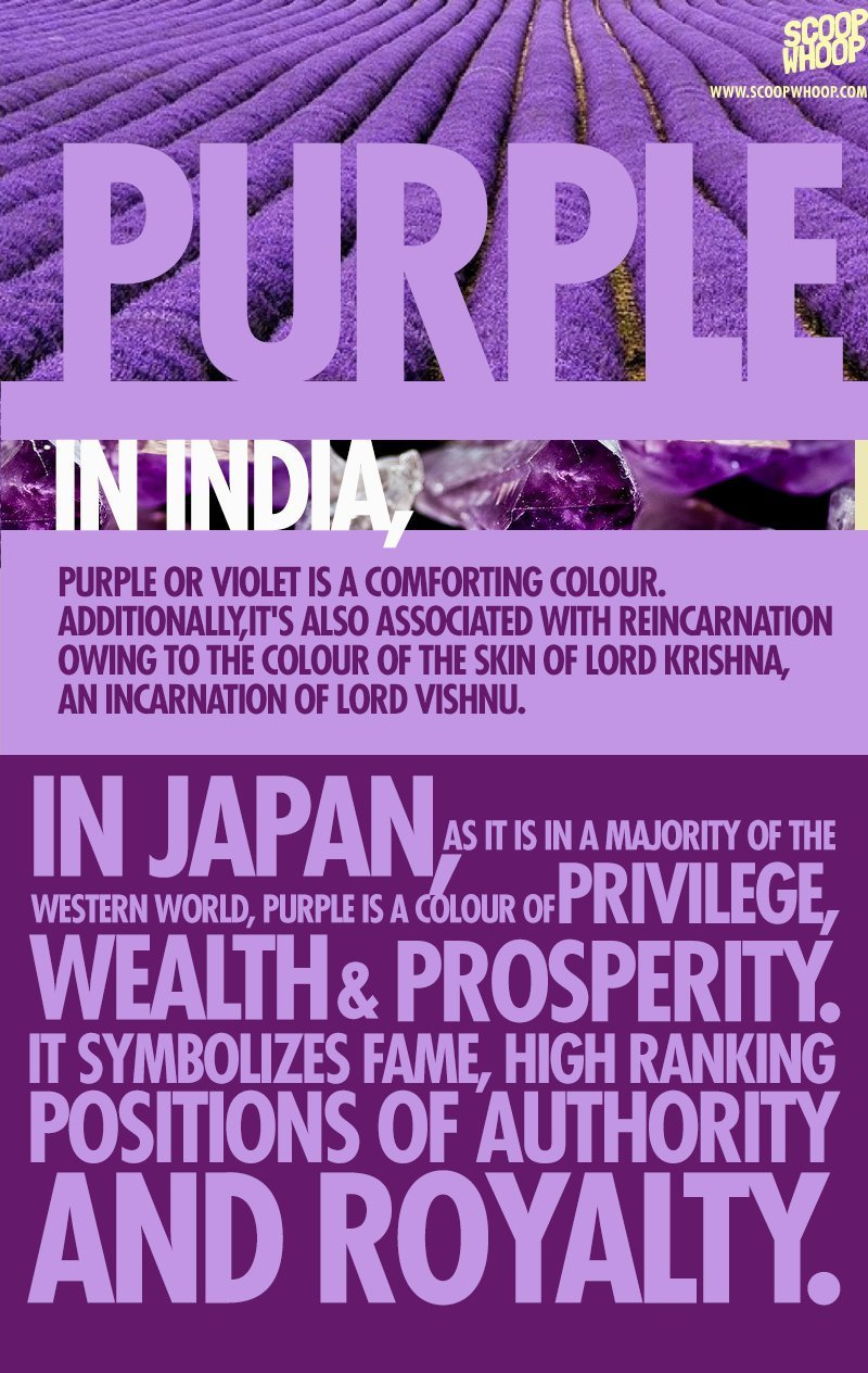 Purple And Navy Blue Wedding