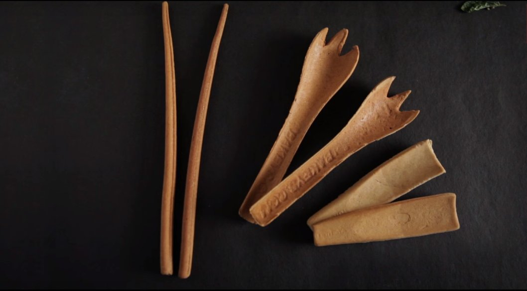 This Indian Company Is Making Edible Cutlery To Eat After Your Meal. What A Time To Be Alive!