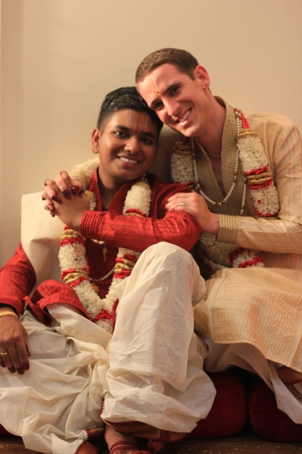 Gay Couple Beautifully Announced Love With Traditional South Indian Ceremony