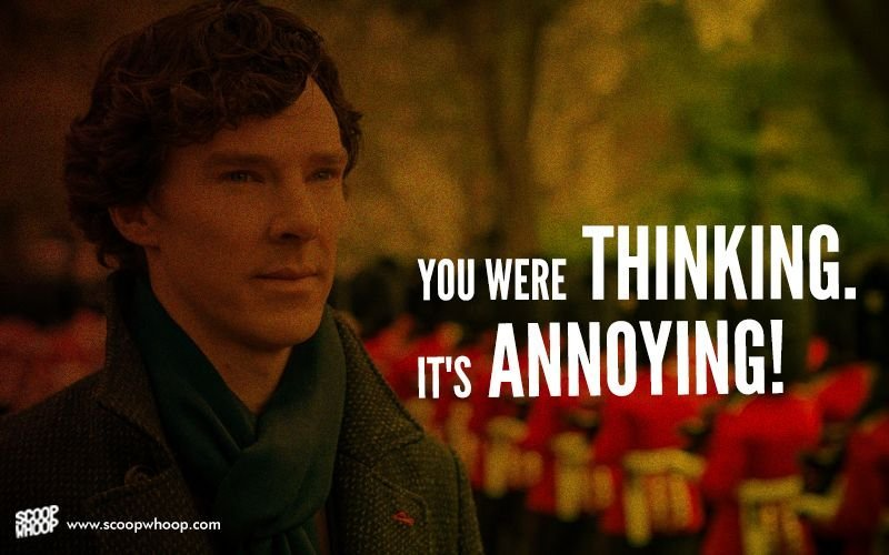 Sherlock Quotes Wallpaper On Benedict Cumberbatch S Birthday We Look Back At The 20