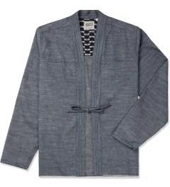 Naked & Famous Blue Chambray Selvedge Kimono Shirt Picutre