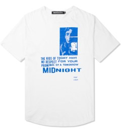 Midnight Studio White Phenom Pocket T-Shirt Picutre