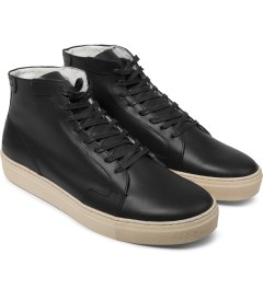 piola Polido Black IBERIA Shoes Model Picutre