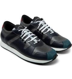 KRISVANASSCHE Black Hiking Sneakers Model Picture