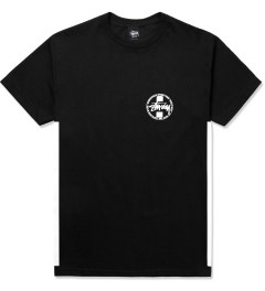 Stussy Black Worldwide Dot T-Shirt Picture
