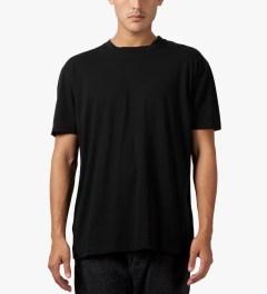 Matthew Miller Black Marshall Zip T-Shirt Model Picture