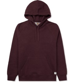 Carhartt WORK IN PROGRESS Bordeaux Heather Holbrook Hoodie Picutre