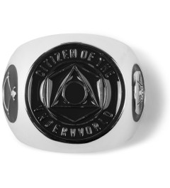 Black Scale Silver Citizen Ring Picture