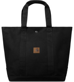 Carhartt WORK IN PROGRESS Black Simple Tote Bag Picutre