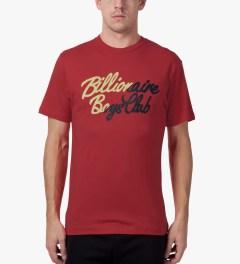 Billionaire Boys Club Lollipop Red S/S Slash T-Shirt Model Picutre