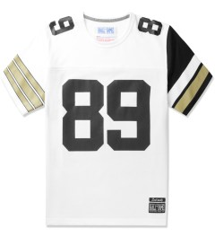 Hall of Fame White/Black/Gold Bavaro New Vintage Jersey Picutre