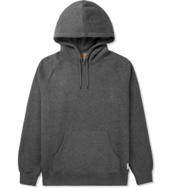 Carhartt WORK IN PROGRESS Dark Heather Grey Holbrook Sweat Hoodie Picutre