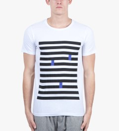 Still Good White Mondrian 6 T-shirt Model Picutre