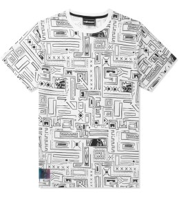 The Hundreds White Geo Metric T-Shirt Picture