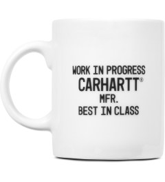 Carhartt WORK IN PROGRESS White/Black Coffee Mug Picutre