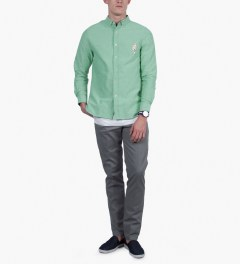 BWGH Green ARA Shirt Model Picutre