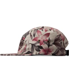 HUF Tan Hawaiian Oxford Volley Cap Model Picutre