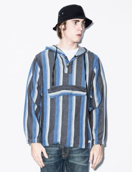 Stussy Blue Blanket Pullover Picture