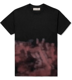Libertine-Libertine Black/Pink Print Brake Photo Complex T-Shirt Picutre