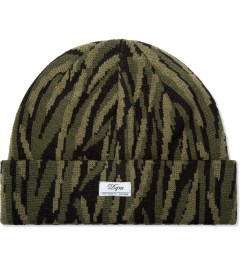 DQM Olive Tiger Camo Beanie Picture