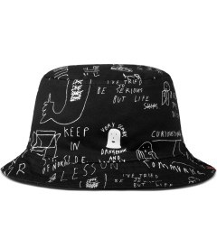 Lazy Oaf Black Bucket of Sketch Bucket Hat Picutre