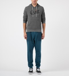 AXS Folk Technology Deep Blue Sweat Cargo Pants Model Picutre