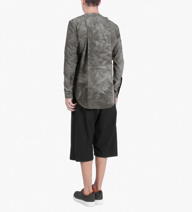 Slate Grey SALIX Collarless Shirt