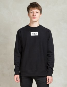 Hood By Air. Black 1969 Explosion Sweatshirt Picture