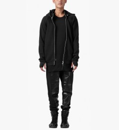 11 By Boris Bidjan Saberi Black Z-1 F-1206 Pullover Jacket Model Picutre