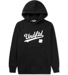 Undefeated Black UNDFTD Script Hoodie Picture