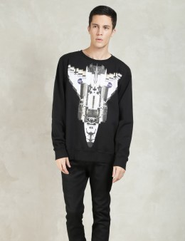 MARCELO BURLON Black Chapello Crew Picture