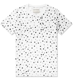 Still Good White/Black Print All Over Leck T-Shirt Picutre