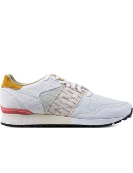 Reebok GARBSTORE x Reebok White/Jadite/Coral Classic Leather 6000 Sneakers Picture