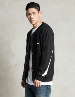 Stussy Black French Terry Varsity Picture
