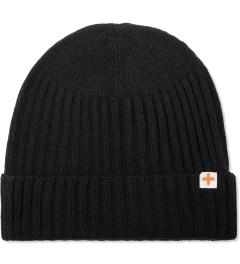 Head Porter Plus Black Knit Beanie Picutre
