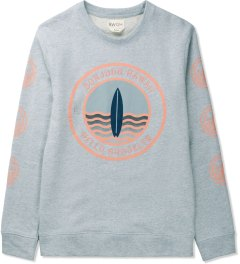BWGH Blue Salmon Surf Sweater Picutre