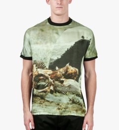 A. Sauvage Multi Print Milperra L5060 T-Shirt Model Picture