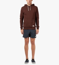 SATURDAYS Surf NYC Oxblood Red Ditch Pullover Hoodie Model Picutre