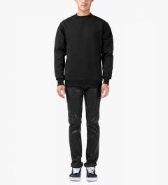 Études Studio Black Sphere Crew Carbon Sweater Model Picutre