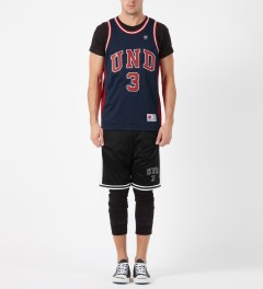 Undefeated Black UND 3 Mesh Shorts Model Picture