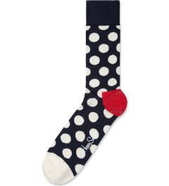 Happy Socks Blue/White Big Dot Socks Picture