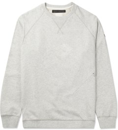 Marshall Artist Light Grey Melange Stealth Sweater Picutre
