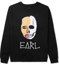 Odd Future Black Earl Sweatskull Crewneck Sweater Picture
