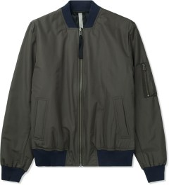SILENT Damir Doma Charcoal Jiolas Bomber Jacket Picture