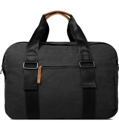 QWSTION Washed Black Weekender Bag Picture