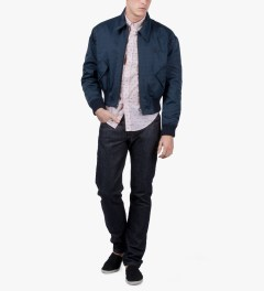 Band of Outsiders Pink LS Button Down Shirt Model Picture